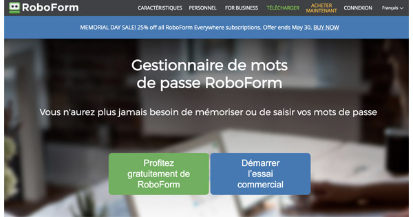 Avis RoboForm