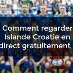 Regarder Islande Croatie en streaming gratuit