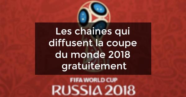 chaines coupe du monde