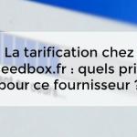 La tarification chez seedbox.fr : quels prix pour ce fournisseur ?