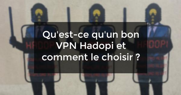 VPN HADOPI