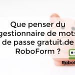 gratuit RoboForm