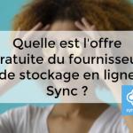 gratuit Sync