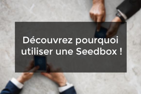 Découvrez pourquoi utiliser une Seedbox !
