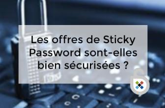 Les offres de Sticky Password sont-elles bien sécurisées ?